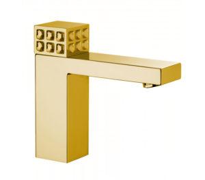 rubinetto oro moderno